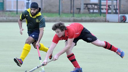 Wisbech mens 1sts v Letchworth 1sts. Picture: Steve Williams.