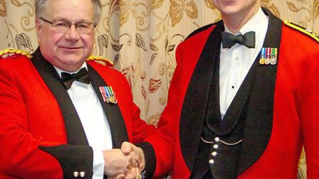 Appointment of the new County Commandant for Cambridgeshire Army Cadet Force.Lt. Col. Mark Knight
