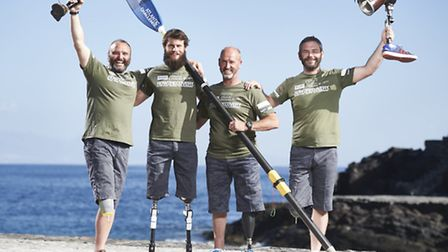 Paddy Gallagher and his team training in La Gomera, Spain