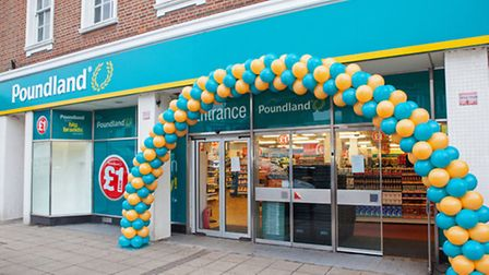 Tthe new Poundland store in Market Place, Wisbech.Photo: Professional Images/@ProfImages