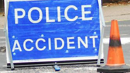 Police attend six car crash on the A47 between Guyhirn and Wisbech