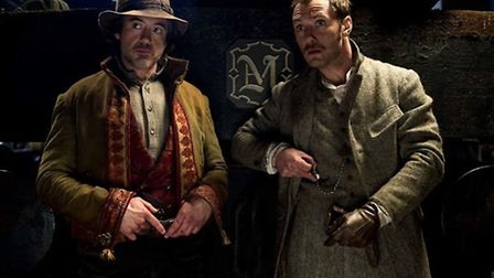 Sherlock Holmes: A Game of Shadows stars Robert Downey Jr and Jude Law