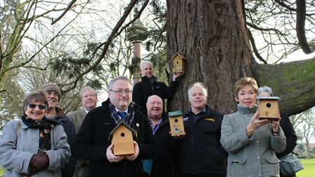 Installation begins of 100 new bird boxes in Wisbech Park. It has been dreamed up to tie in with the