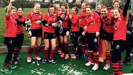 Wisbech Town Ladies' first team are champions of the East Leagues Division One North.
