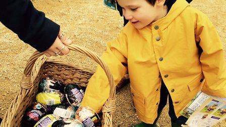 The ever-popular Easter Egg Hunt at the National Trust's Peckover House will have a definite new fla