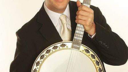 Sean Moyses, who is regarded as one of Europe's top professional banjo players.