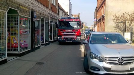 Inconsiderate parking can be a real hassle for our emergency services, especially for larger vehicle