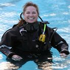RMG Photography - 6th April 2016Scuba Instructor, Lisa Shafe pictured at the St Albans Sub Aqua Cl