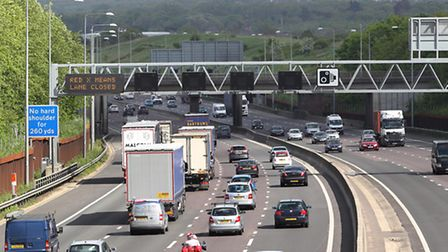 There was a fatal collision on the M25 near South Mimms