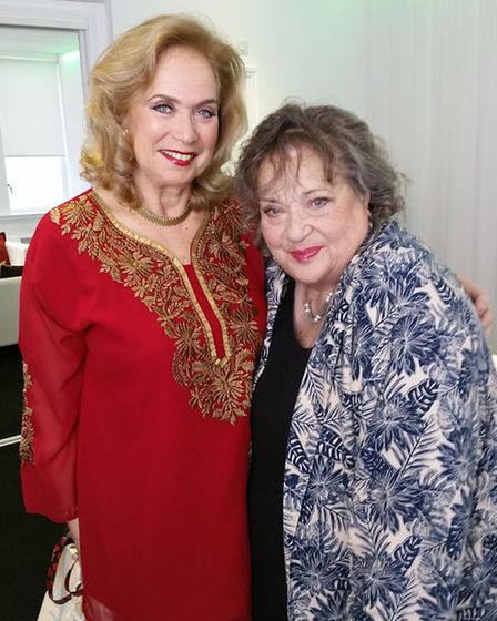 Elstree Studios brings you Take Two with Valerie Leon and Sylvia Syms [Picture: Elstree Studios]