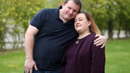 Louise Davey and Joseph Shapton are having their 'wedding breakfast' in McDonald's