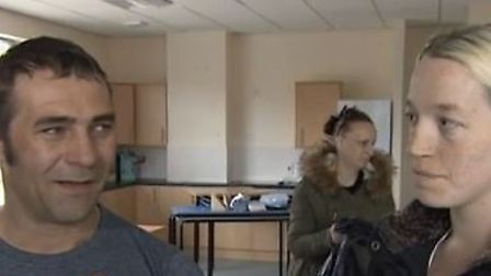 Richard and Vicky Blackwell who lost almost everything in a house fire in Wisbech