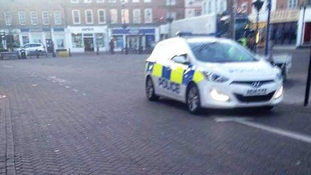 A 36-year-old man from Wisbech was arrested on suspicion of common assault yesterday after allegedly