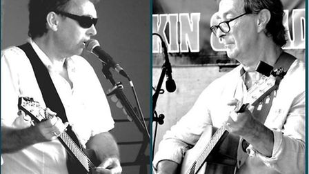 Musical duo Azimuth will play songs from the 1950's through to the present day at Upwell's Royal Bri