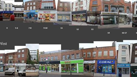 A funding bid has been put into the Heritage Lottery Fund Townscape Heritage programme, as part of a