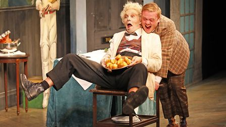 One Man Two Guvnors at Wisbech Angles Theatre