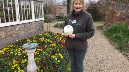 Garden award for Peckover House staff and volunteers