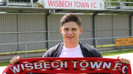 Former Wisbech Town striker, Jack Friend, has re-joined the club from Sky Bet League Two side Peterb