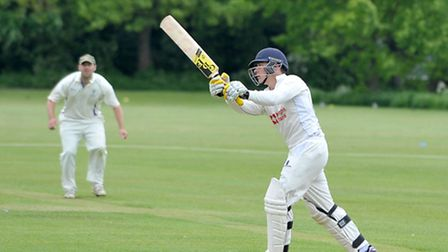 Albutt's 74 and Danny Haynes' 78 helped Wisbech Town to a 184-run victory over title favourites, Saf