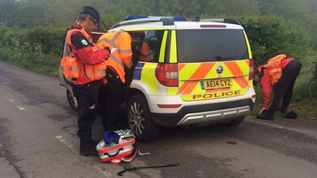 Fenland Police and CamSAR rescue two missing men deemed to be at high risk
