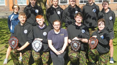 CWA uniformed services team photo