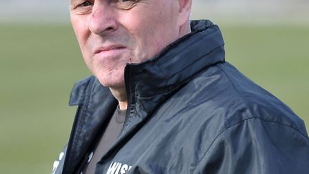 Wisbech Town manager Dick Creasey. Photo: Steve Williams