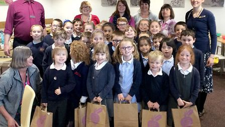 Children from Tilney All Saints Primary School enjoyed a visit to the Hardwick Tesco's in King's Lyn