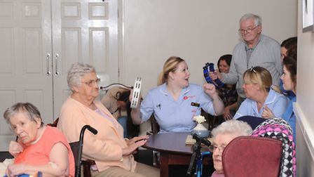 Lyncroft Care Home in Wisbech celebrates National Care Home Open Day. Photo: Rob Morris