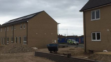 Police called to reports of child in a Wisbech building site