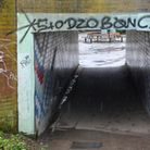 Graffiti on the underpass by Queensway
