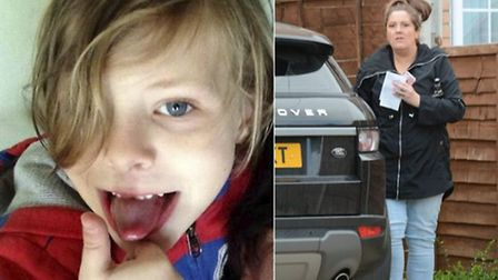 Seth Dixon, 7, was knocked over and killed by Amy Asker in 2014