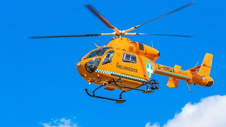 Magpas flew to help Wisbech man who collapsed