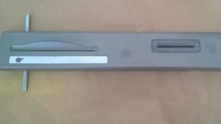 Skimming device recovered from Santander ATM, Market Place, Wisbech