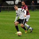 Lewis Endacott playing for Royston
