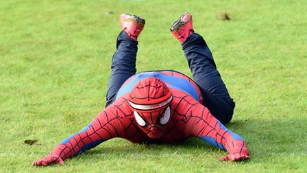 There was some wacky fancy dress as 234 people ran two races for charity last week.