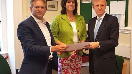 Grant Shapps, Claire Perry and Oliver Dowden