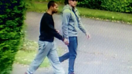 Both wanted by Wisbech Police for questioning following burglaries