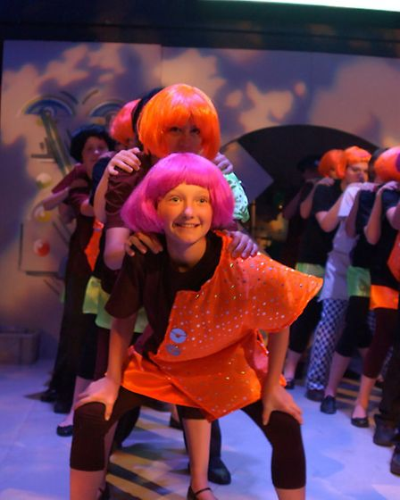 Pictures from the last Angles Theatre production of the musical eight years ago.