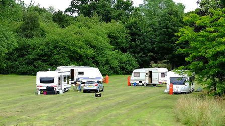 Travellers have now lefr their temporary home near the Mundells roundabout