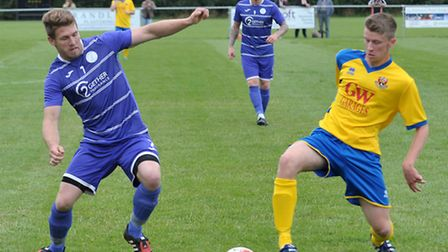 Wisbech St Mary vs. AFC Sudbury Reserves. Picture: Steve Williams.