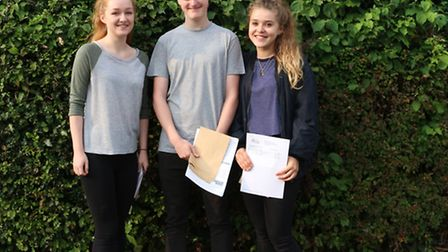 Maddie Hindson, Zak Watson and Stephanie Santos-Paulo gained places at Oxford University.