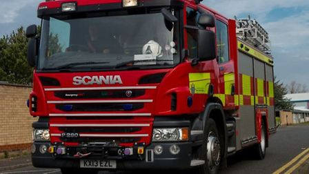 Car torched close to house in Lords Lane, Wisbech.