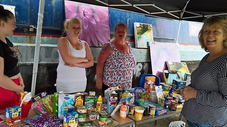 Stalls, games and a tombola also took place.