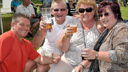 Food and music fiesta the Five Bells Tydd st Mary. Picture: Steve Williams.