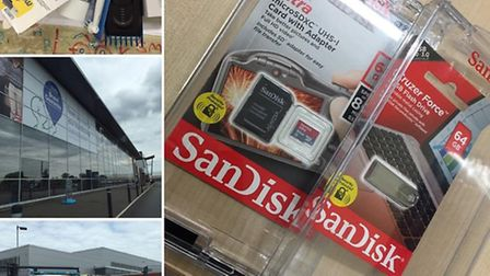 The items that were stolen from Tesco Extra, Wisbech.