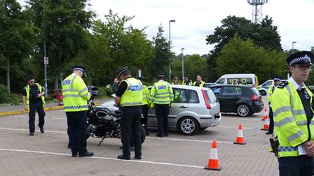 Specials join forces for drive home safely day