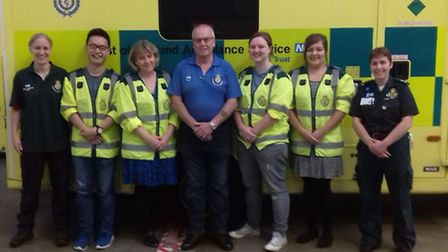 CFRs and trainers following the course on September 24.