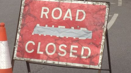 Roadworks are currently taking place in Valley Road, Welwyn Garden City