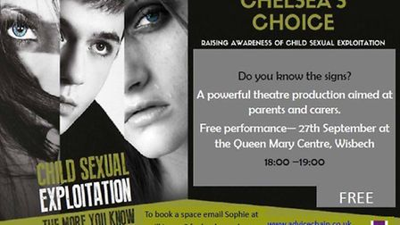 Safety group hopes to raise awareness of child sexual exploitation with free Chelsea's Choice play.