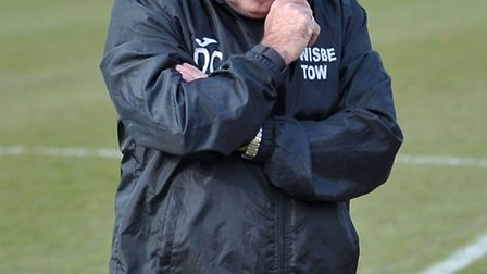 Wisbech Town manager, Dick Creasey.